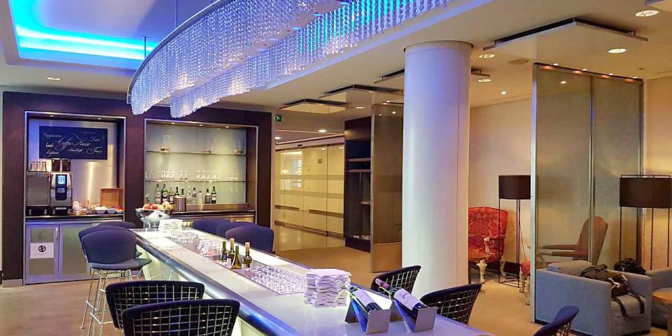 British Airways Galleries Club Lounge (BRU)