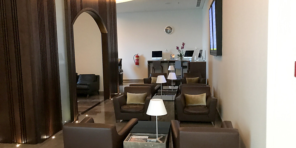 Oman Air Al Khareef Lounge (SLL)