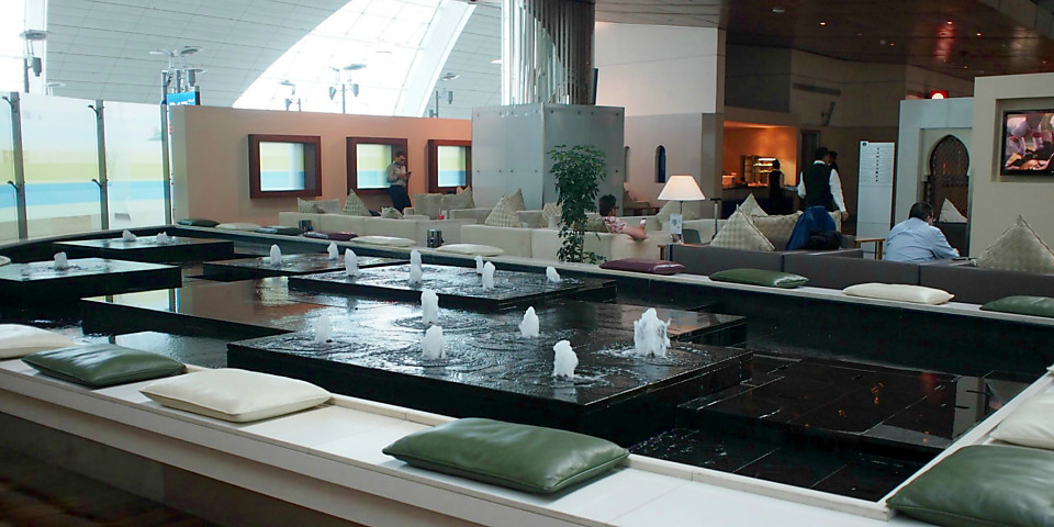 Emirates First Class Lounge (DXB)