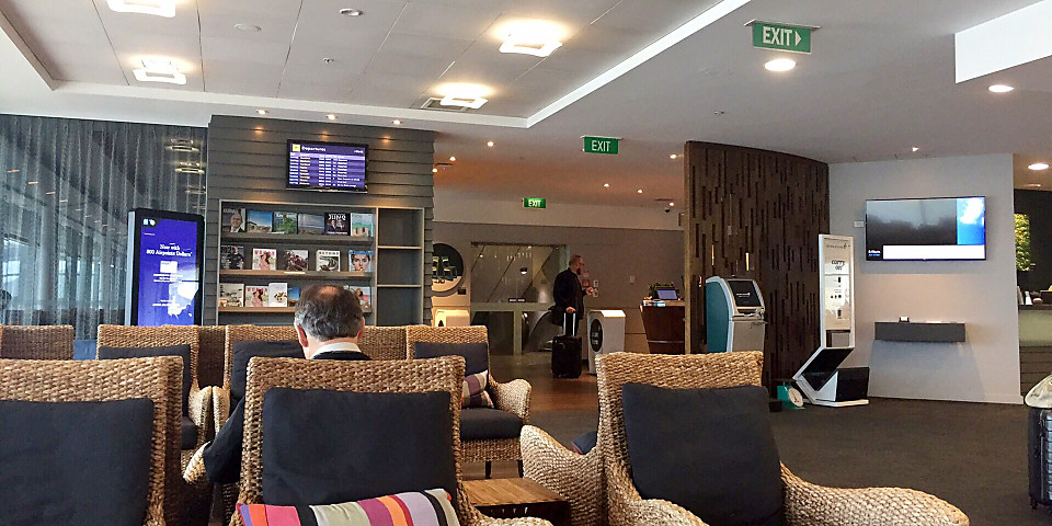 Air New Zealand Domestic Lounge (WLG)