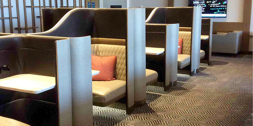 Singapore Airlines SilverKris Business Class Lounge (SYD)