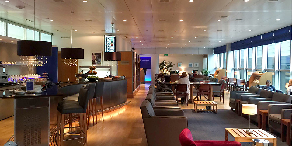British Airways Galleries Lounge (GVA)