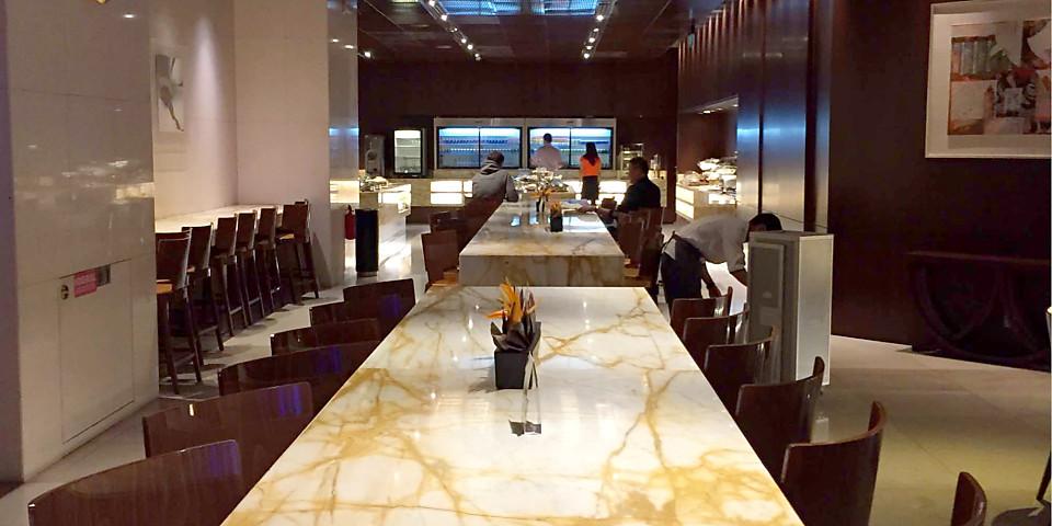 Singapore Airlines SilverKris Business Class Lounge (SIN)