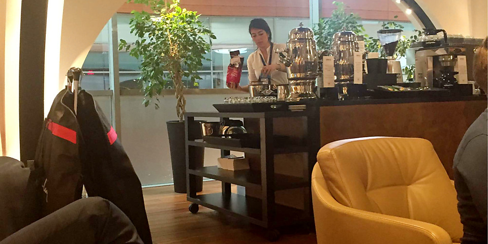 Turkish Airlines Lounge Istanbul Sabiha Gokcen (SAW)