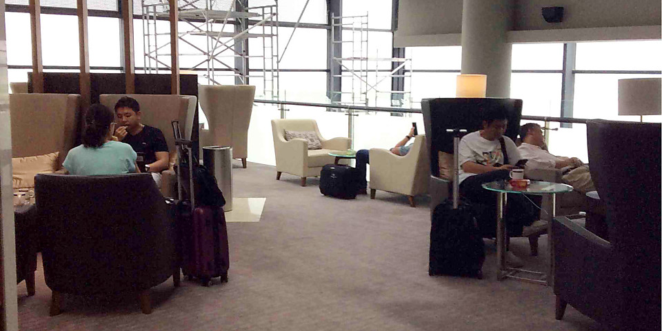 V8 Air China First & Business Class Lounge (SHA)