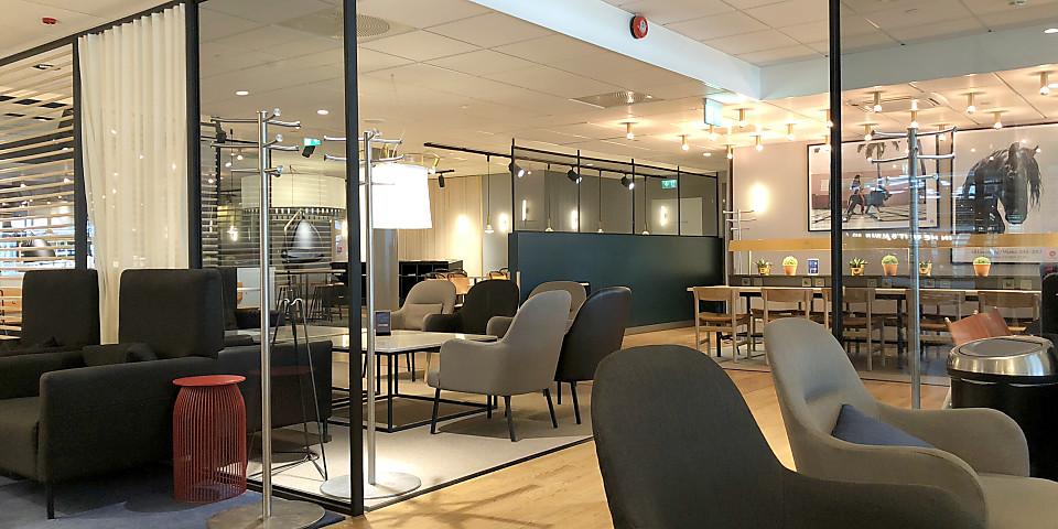SAS Gold Lounge (OSL)