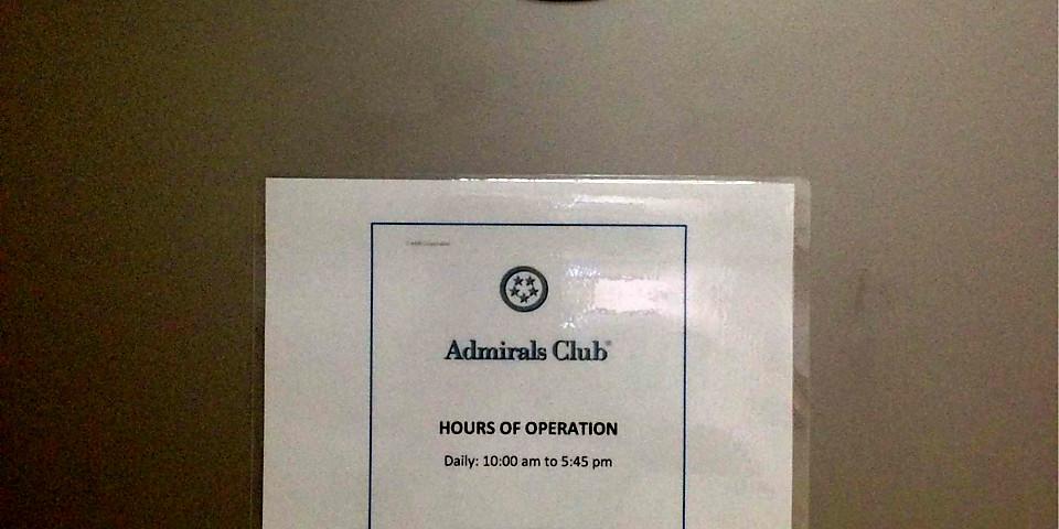 American Airlines Admirals Club (CCS)