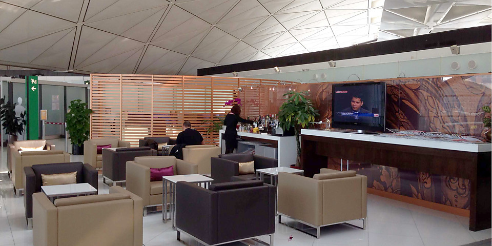 Thai Airways Royal First Class Lounge (HKG)