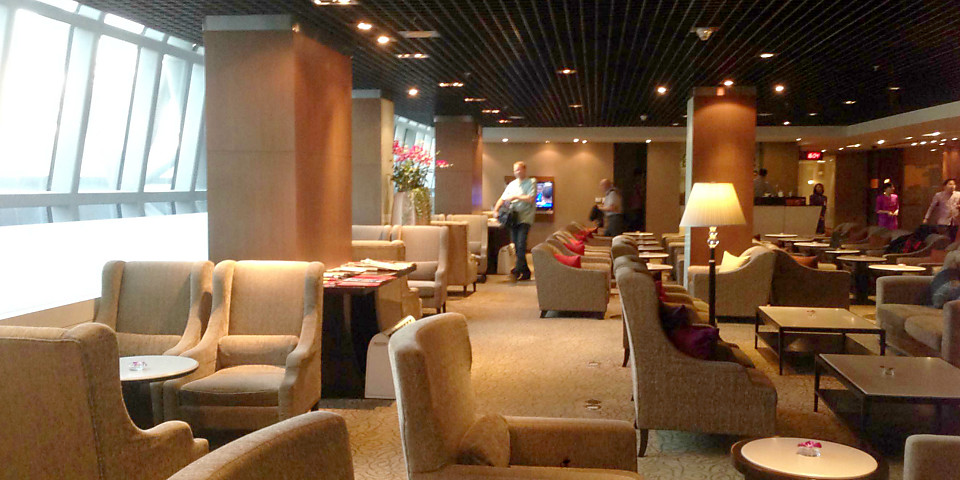 Thai Airways Royal First Class Lounge (BKK)