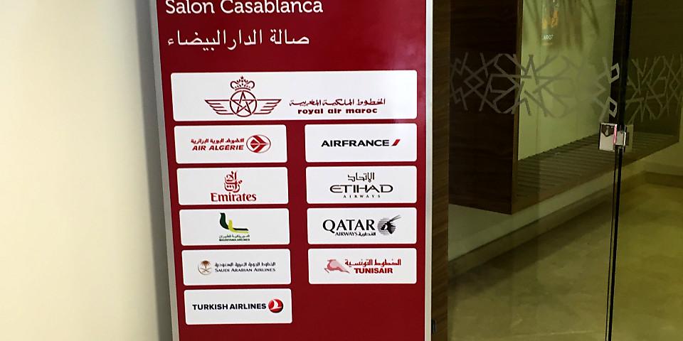 Royal Air Maroc The Casablanca Lounge (CMN)