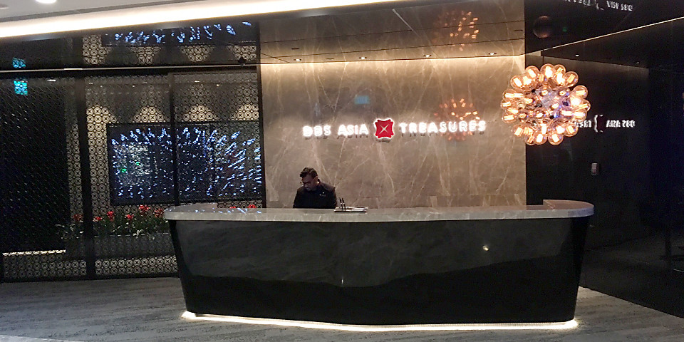 DBS Asia Treasures Lounge (SIN)
