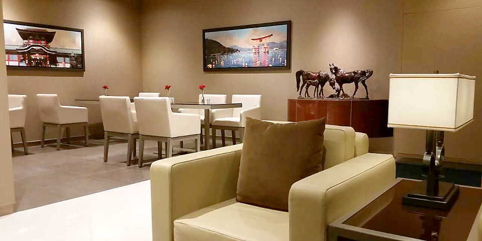 The Emirates Lounge (NRT)