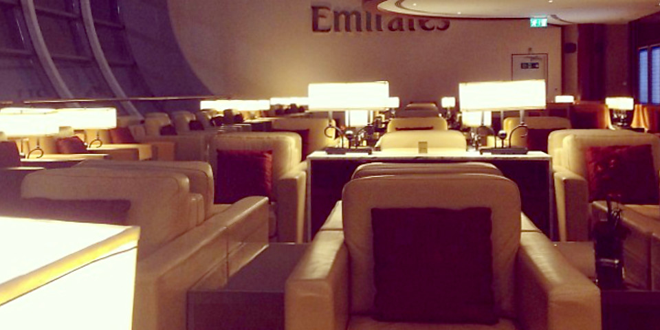 The Emirates Lounge (DXB)