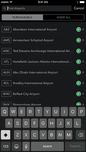 LoungeBuddy iOS App ScreenShot 5