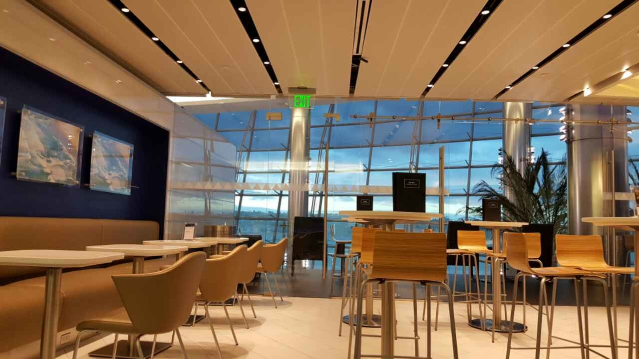 Is Food Free At Delta Sky Club