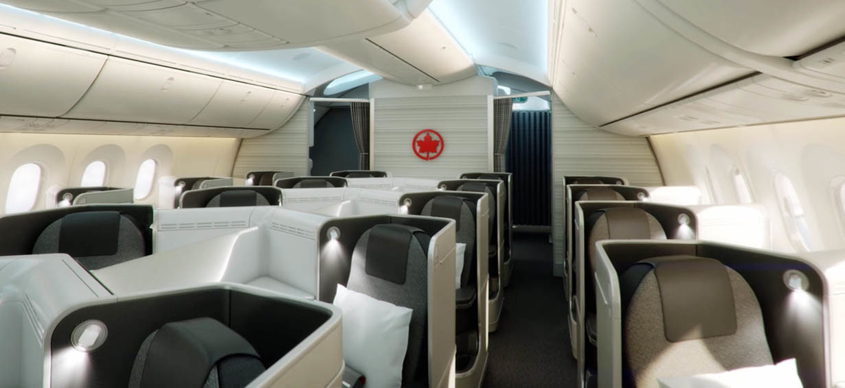 Aeroplan and air canada altitude the ultimate guide loungebuddy air canada business class on the boeing 787 colourmoves