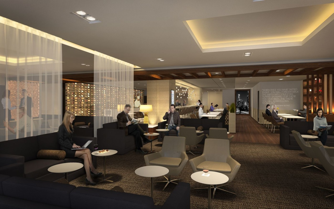 The Ten Best Airport Lounges In United States