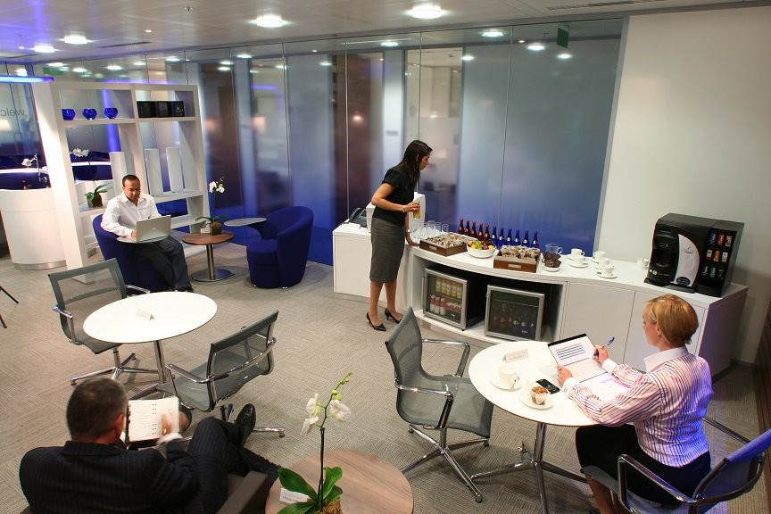 Introducing The Regus Express Business Lounge At London