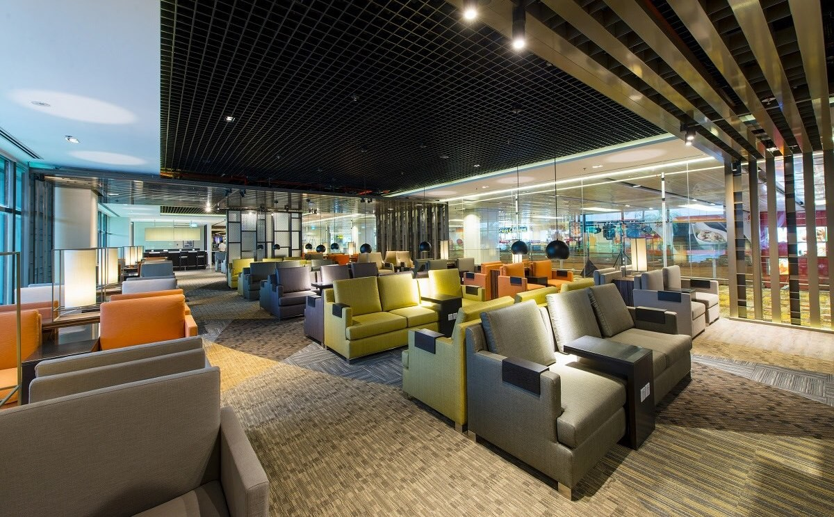 The dnata Lounge at Singapore Airport's Terminal 1: An