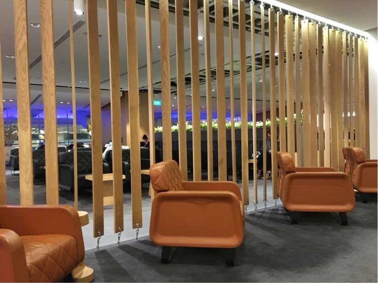 SIN: The Qantas Singapore Lounge Reviews & Photos - Terminal