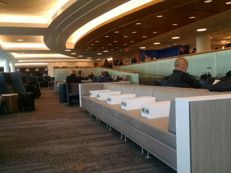 Msp Delta Air Lines Delta Sky Club Reviews Amp Photos