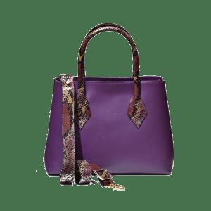 Bolso Audaz Violet Frontal