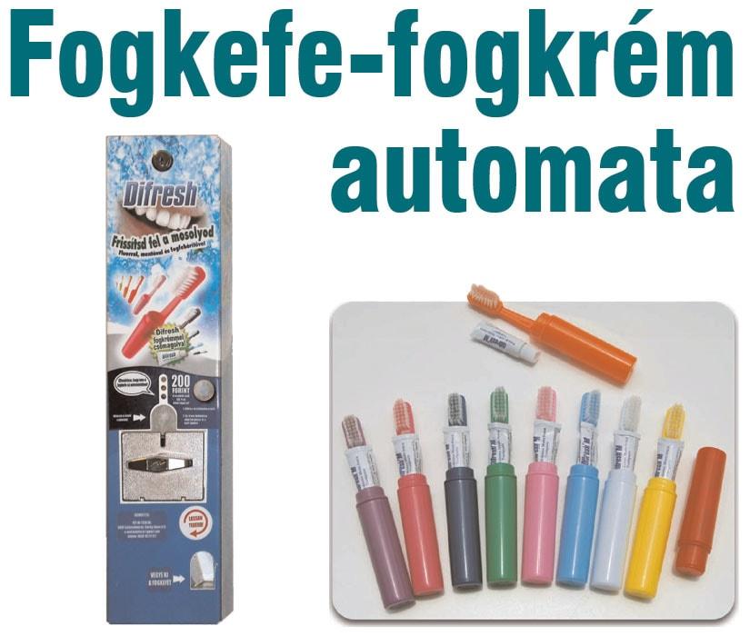 Fogkefe-fogkrém automata | LoveInfo