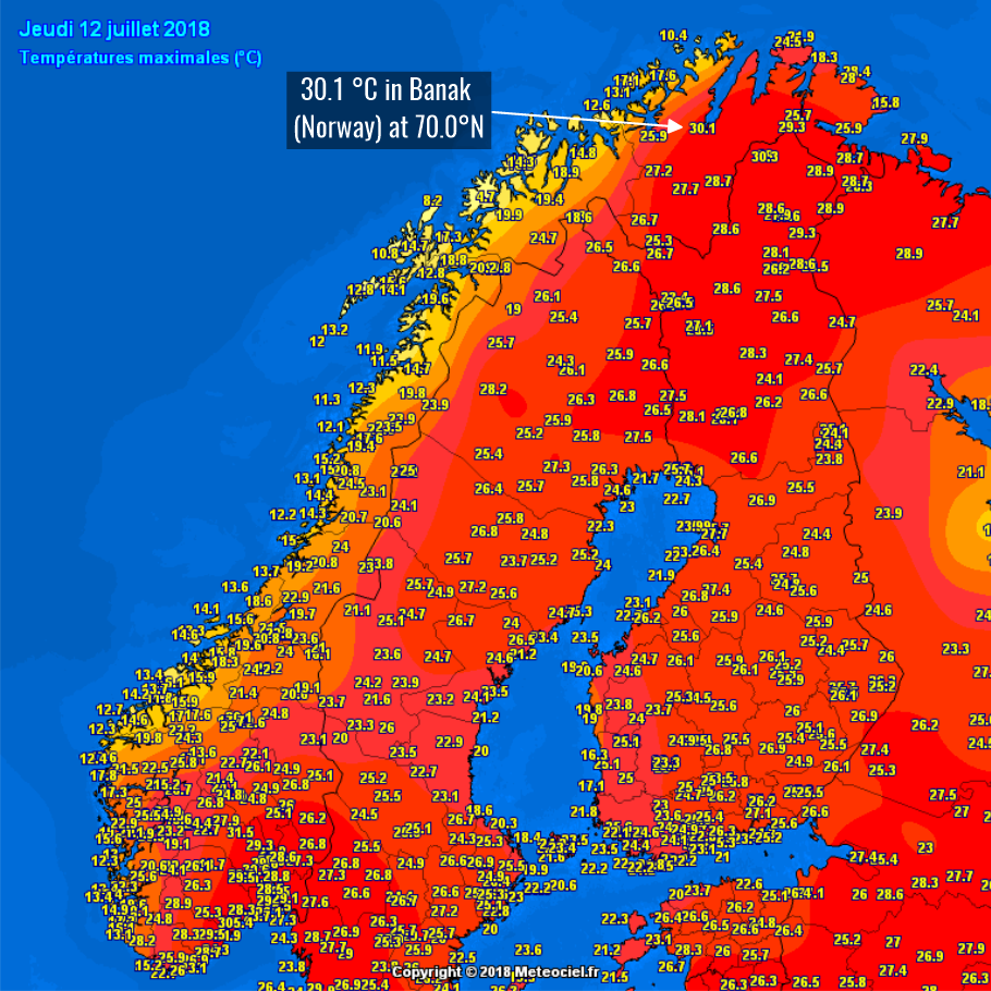 Norvégia megdöbbent! | ClimeNews - Hírportál