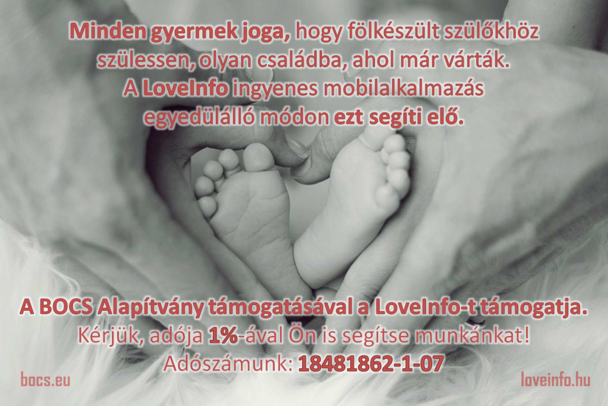 A gyermekjogok támogatása - LoveInfo - BOCS - 1%