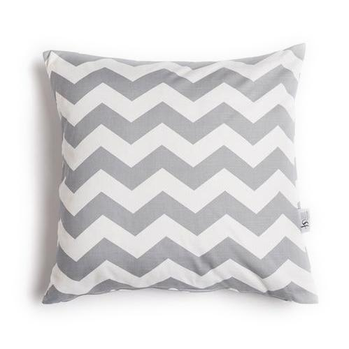 Chevron Cushion Cover - Grey -  - LovelyLittleThings.co.za
