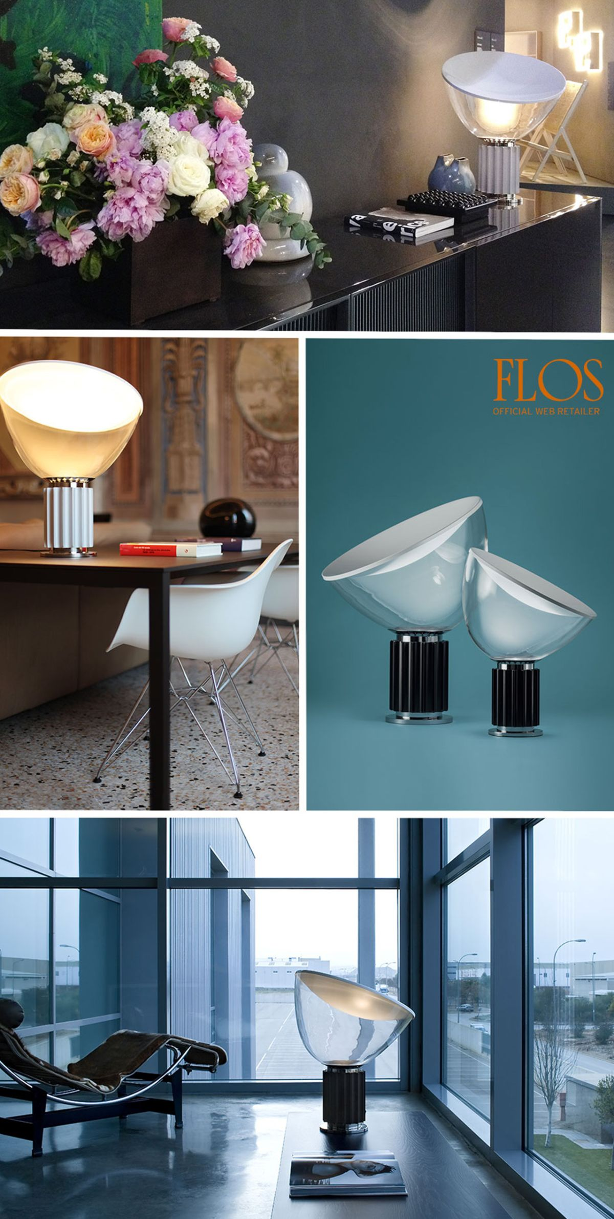 Taccia Led Table Lamp by Flos   LOVEThESIGN