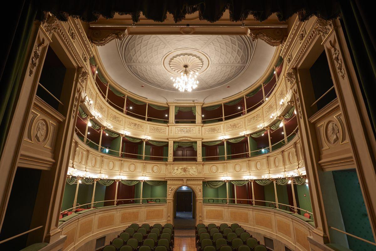 L'interno del Teatro Gerolamo