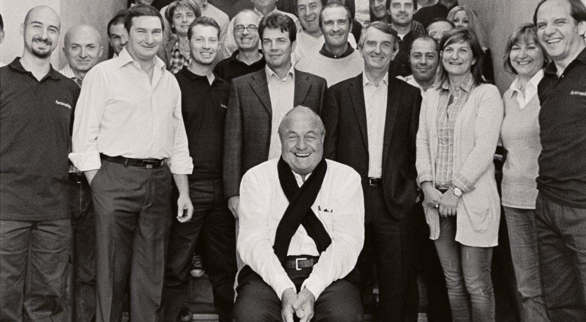 Ernesto Gismondi e il team di Artemide