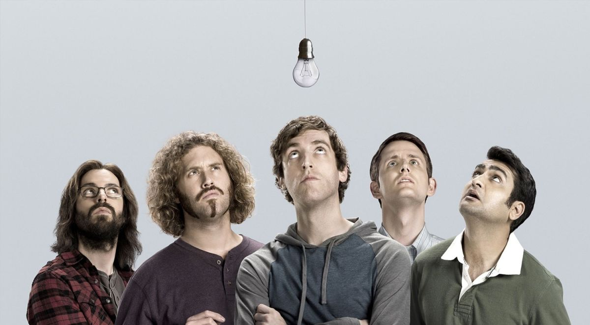 The main characters from Silicon Valley, HBO