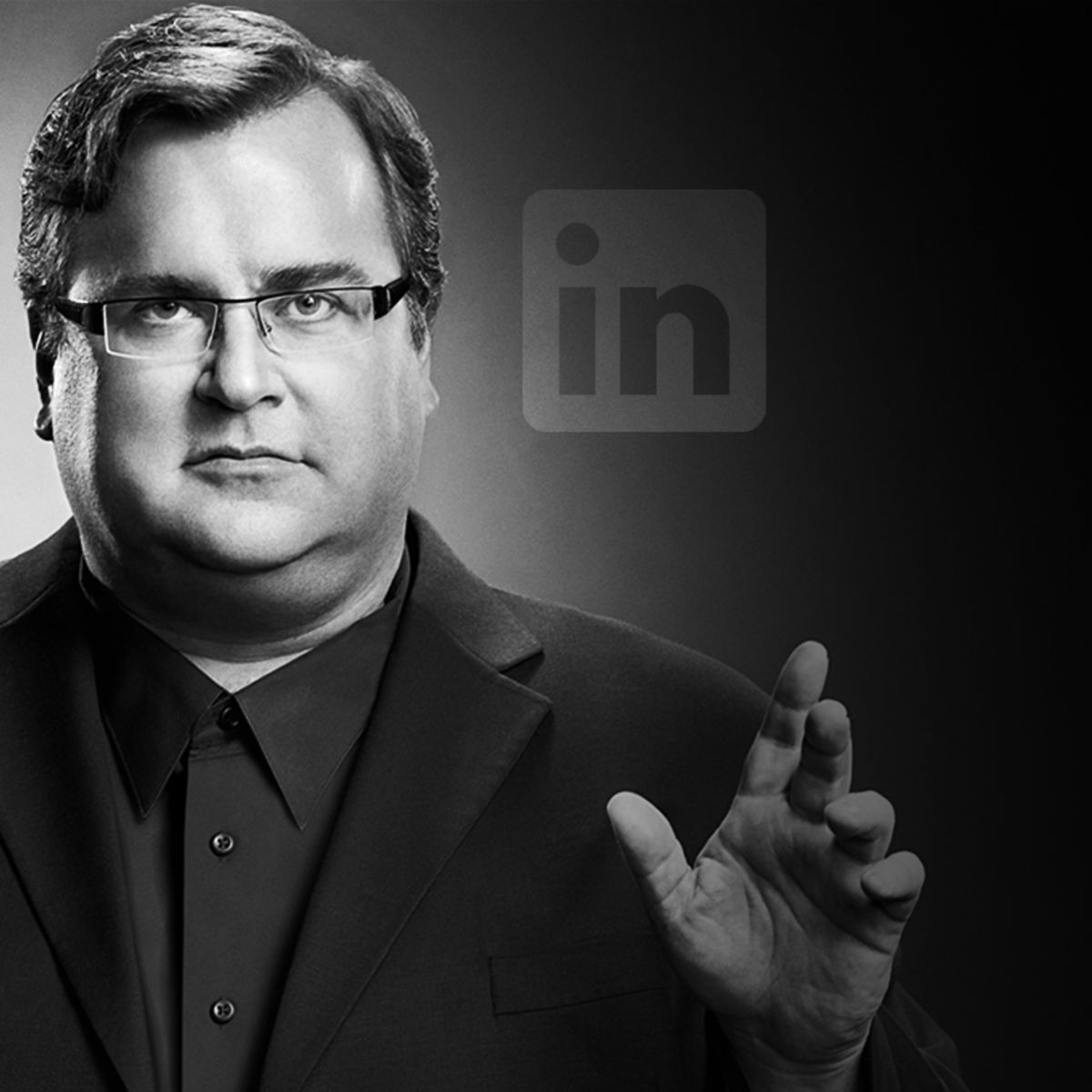 one of Linkedin founders, Reid Hoffman