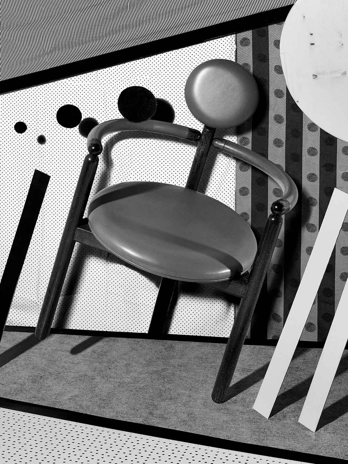 La seduta Pan fotografata da Nicolas Polli