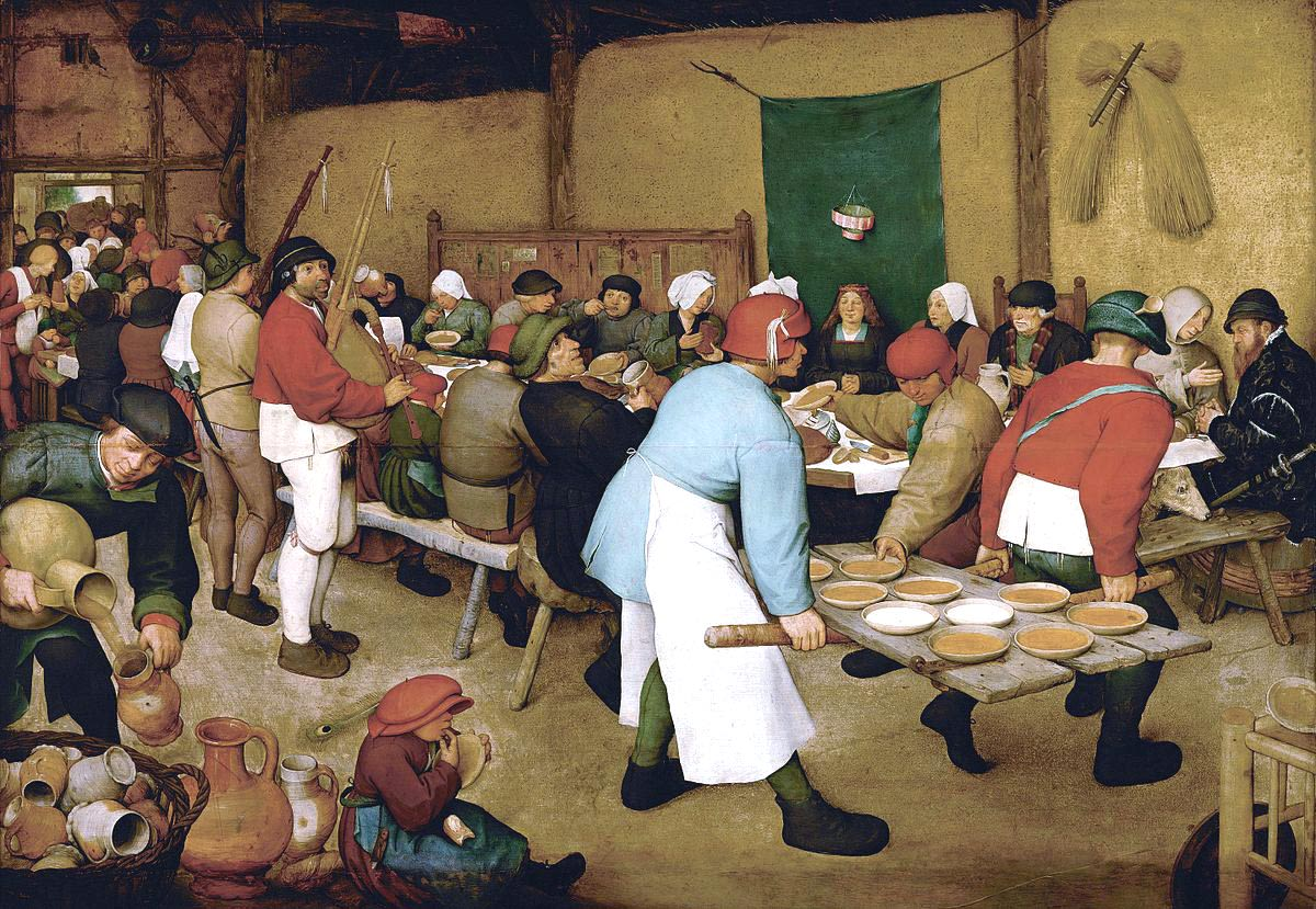 Pieter Bruegel the Elder, Peasant Wedding