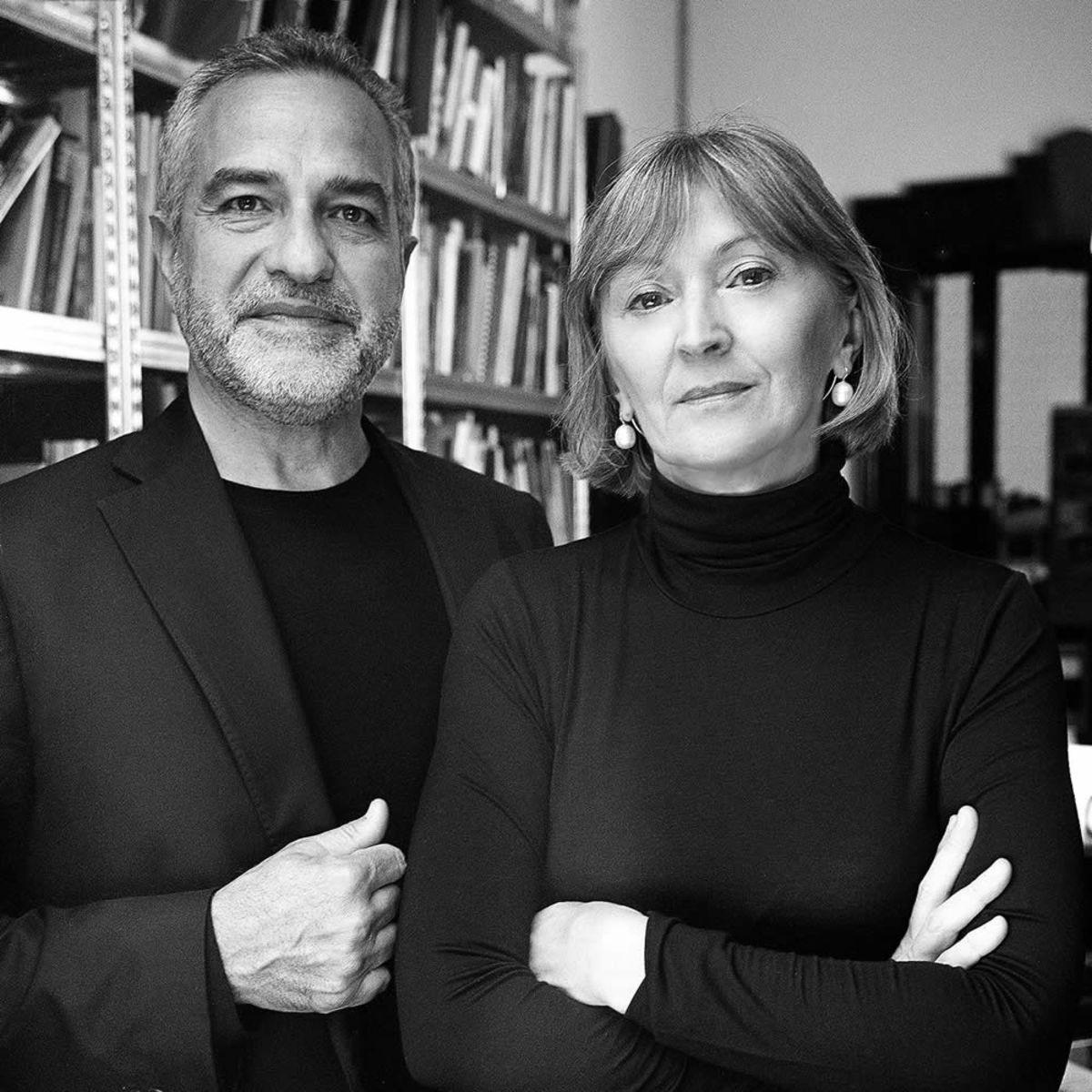 Marco Romanelli e Marta Laudani