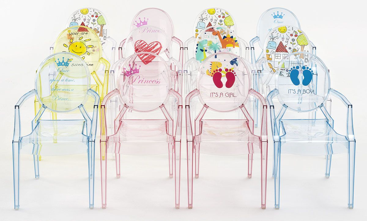 Loulou Ghost Chair by Kartell