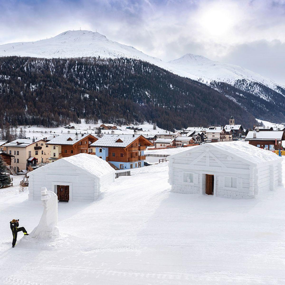 Chalet di Neve