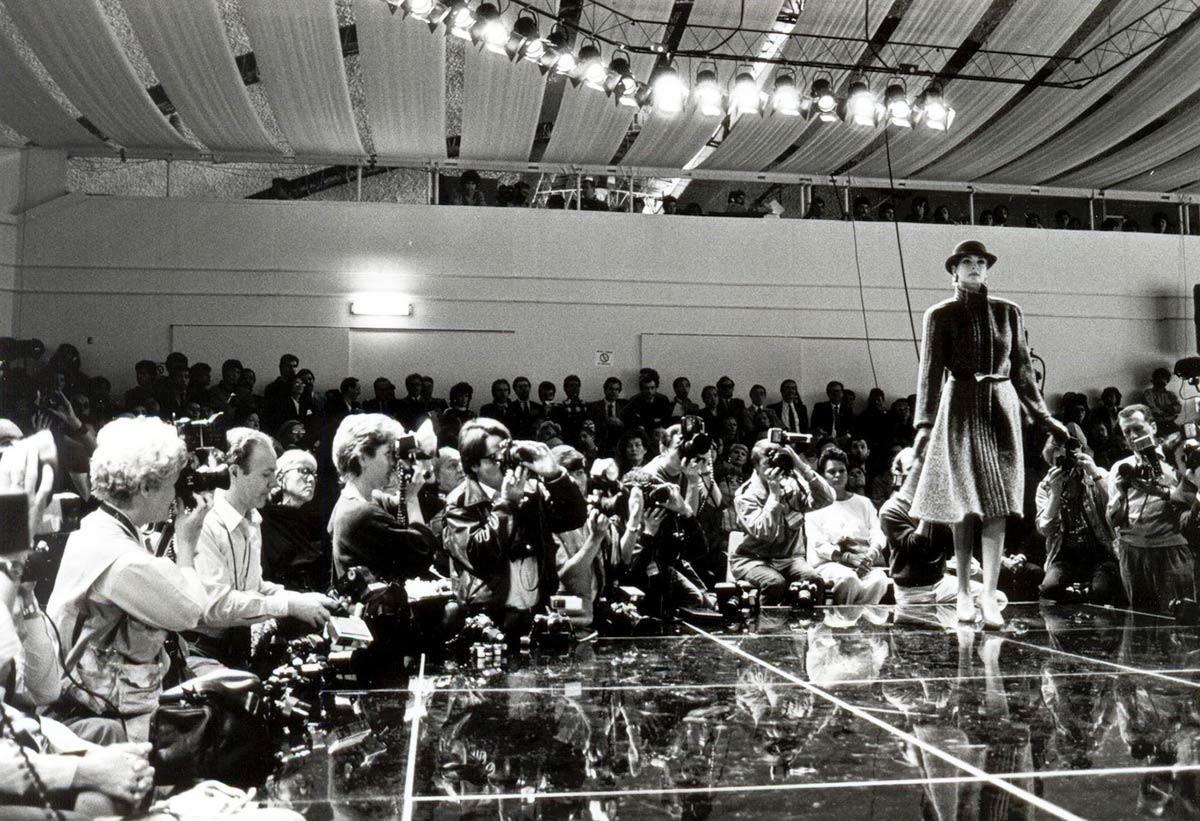 photocredit: Fondazione Fiera Milano, Sfilata di Milano Collezioni presso la Fiera di Milano, 1983