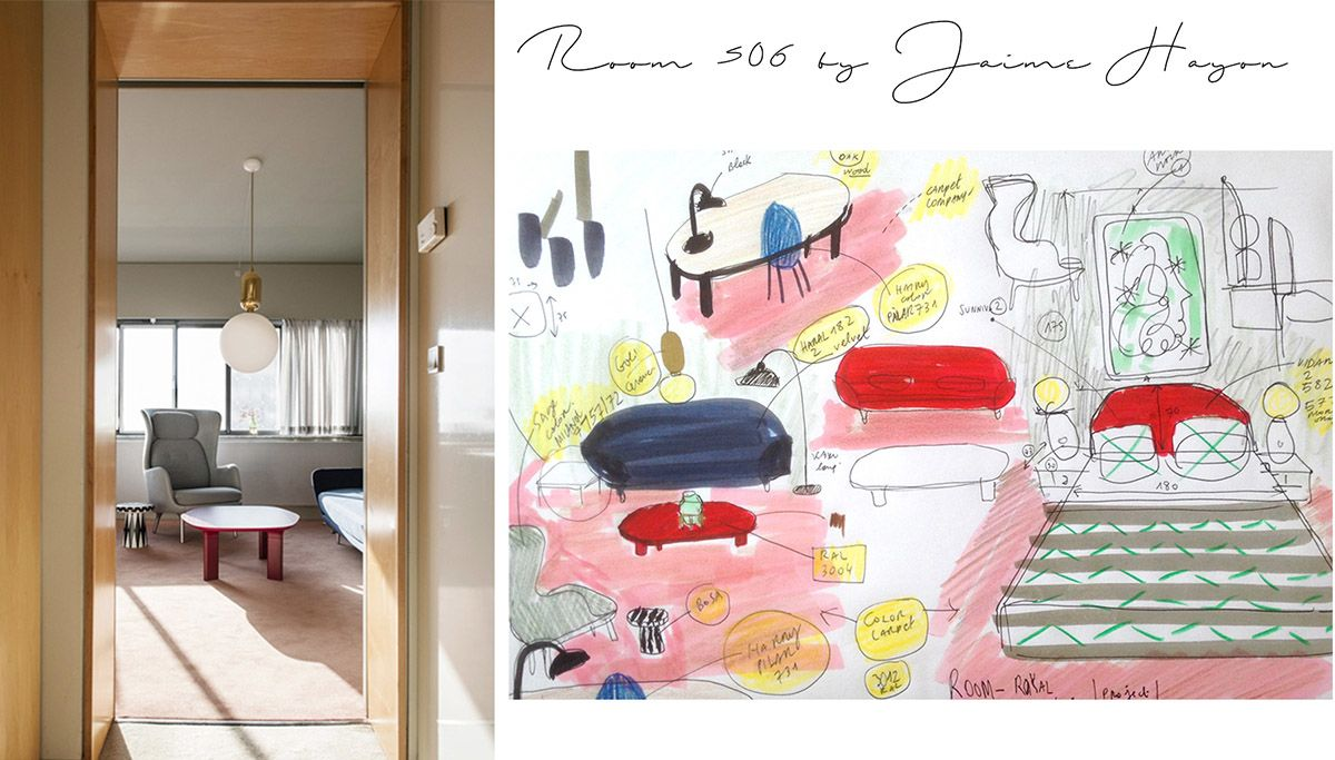 La stanza 506 disegnata da Jaime Hayon