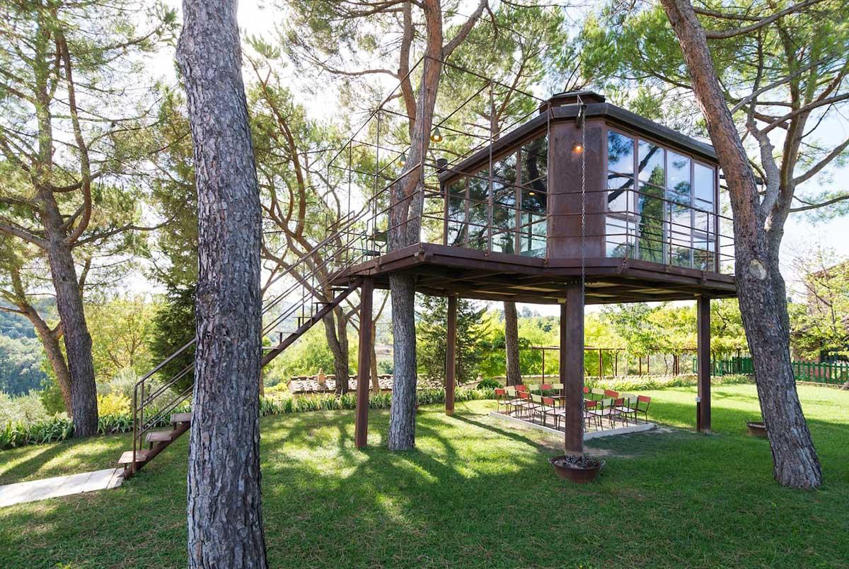 casa sull'albero firenze casa barthel