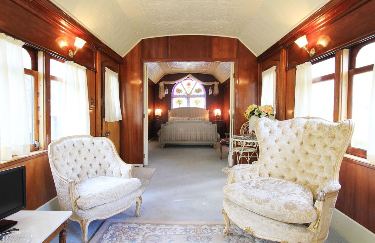 royal train carriage pokolbin dormire su un treno