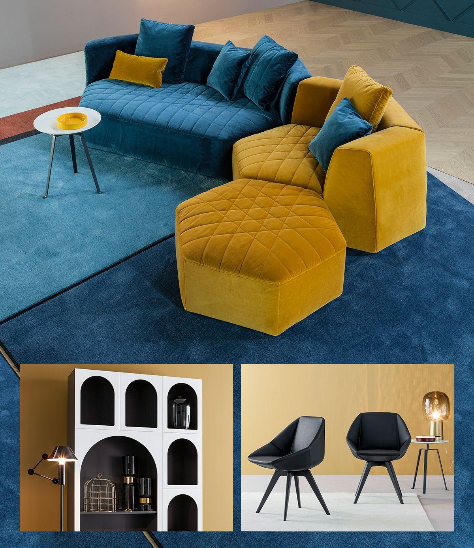 i prodotti di Fabrice Berrux per Bonaldo presentati al Salone del Mobile 2018