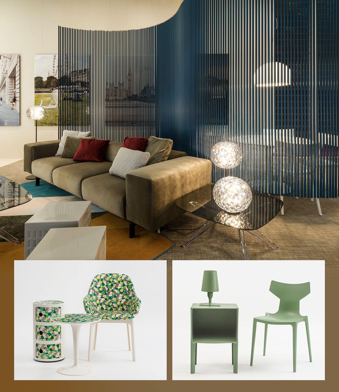 in basso, da sinistra a destra: la collaborazione con DoubleJ + Bio Chair, design by Antonio Citterio