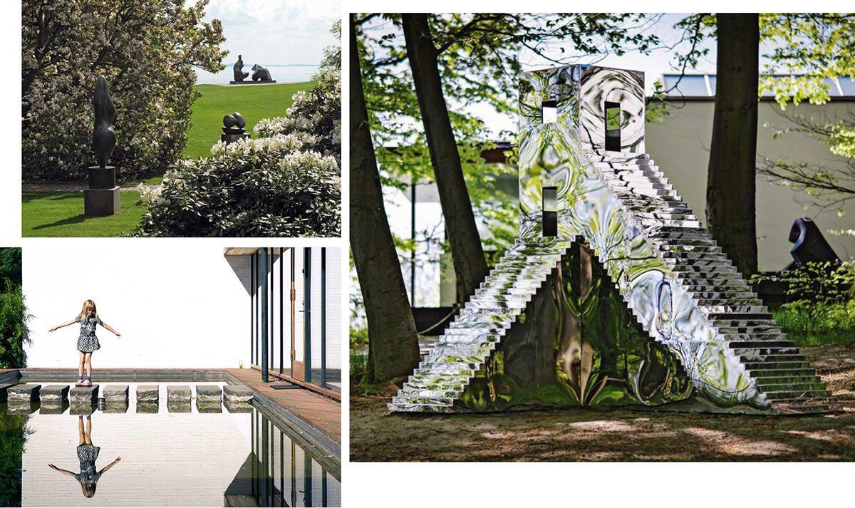 Parco del museo d'arte moderna Louisiana, a Copenhagen