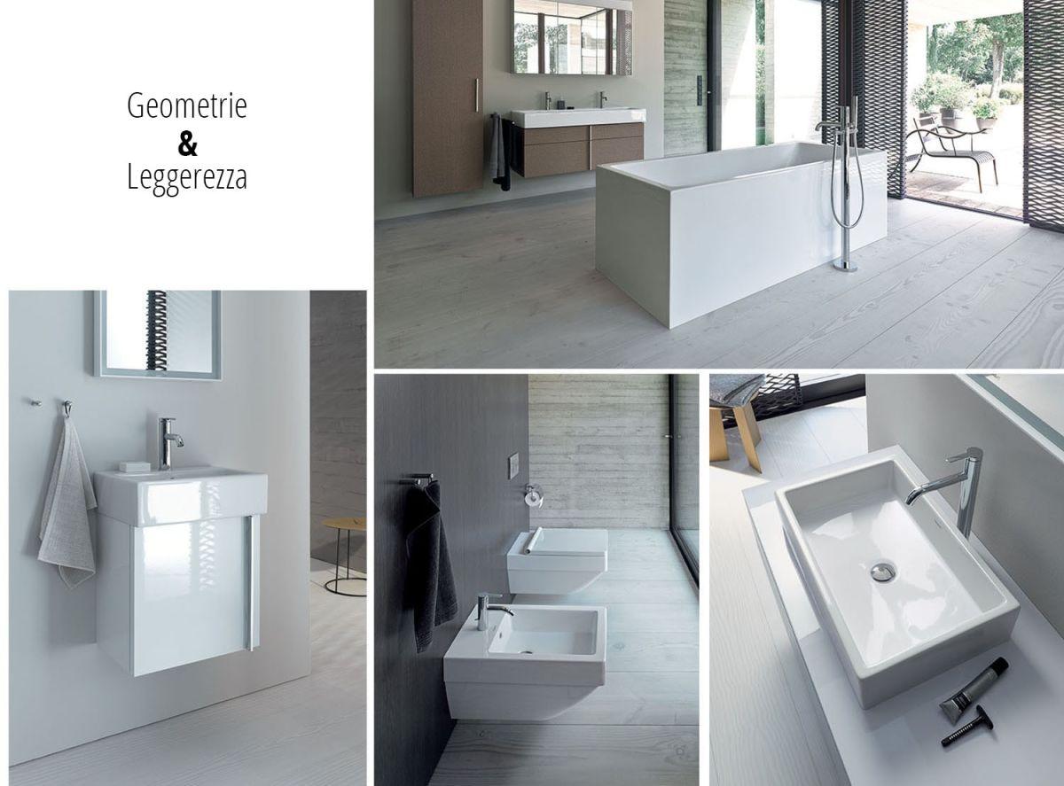 La collezione Vero Air di Duravit è contraddistinta da una purezza geometrica senza tempo: la quintessenza dell'arredo bagno moderno.