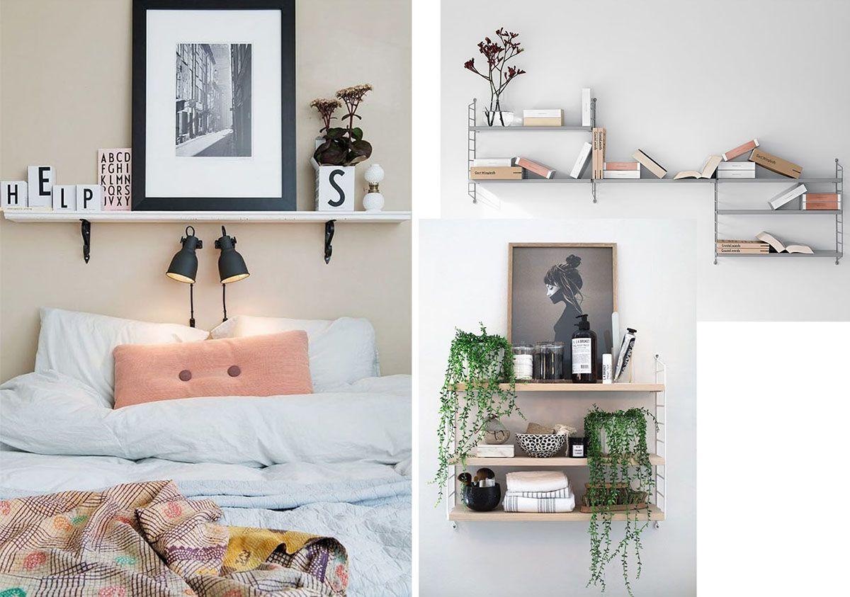 Cinque idee per arredare casa con mensole moderne e di ...