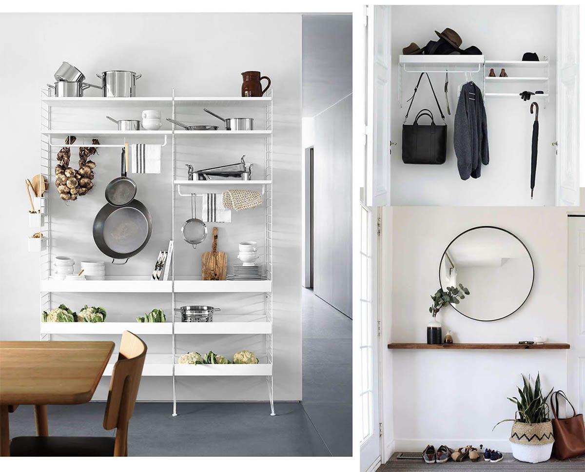 Cinque idee per arredare casa con mensole moderne e di for Mille idee per arredare la casa